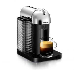 Nespresso A+GCA1-US-CH-NE VertuoLine Coffee and Espresso Maker with Aeroccino Plus Milk Frother