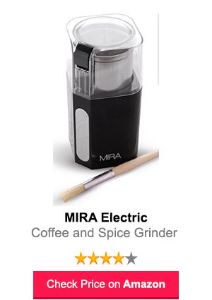 MIRA Electric Spice and Coffee Grinder