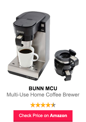 Best Bunn Mcu Single Cup Multi Use Home Coffee Brewer